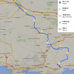 7. Tag:Olivieres - Hyeres (76 km / 920 hm)